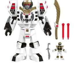 Imaginext Power Rangers Zord branco