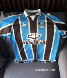 Camisa Grêmio Kappa Impecável, Temporada 1999/2000, Tamanho G