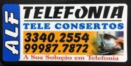 reparos interno de rede de telefônia