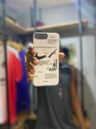 Título do anúncio: Cases iPhone 7/8plus Nike/Rosa/Preta