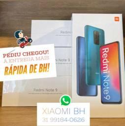 A MENOR TAXA do MERCADO! Xiaomi NOTE 9 64GB - Novo Lacrado Garantia - GLOBAL