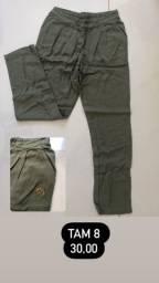Calça verde militar Lilica Ripilica