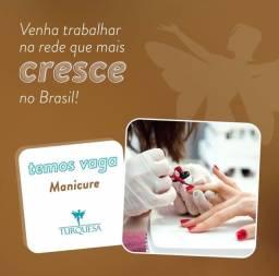 Título do anúncio: VAGA DE MANICURE E ALONGUISTA