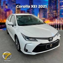 Corolla XEI 2021 apenas 13.500km