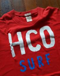 Camisa Hollister Vermelha
