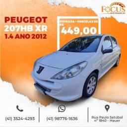 Título do anúncio: Peugeot 207HB XR 1.4 - 2012