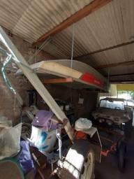 Barco de alumínio Mogi Mirim com carreta