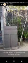 Porta de ferro nova