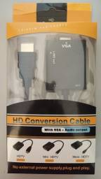 Conversor de imagem hdmi para vga