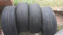 Vendo 4 pneus aro 17 215/55 Michelin