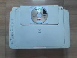 3 equipamentos juntos Caixa de som automotivo Impressora Canon Aparelho de DVD Lg