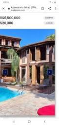 Título do anúncio: Casa de condomínio para aluguel e venda tem 501 metros quadrados com 5 quartos