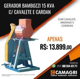 Gerador 15kva p/ Trator Bambozzi