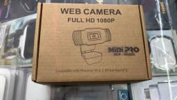 Webcam Mídi Full HD 1080P *NOVO*