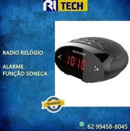 Rádio Relógio da Multilaser