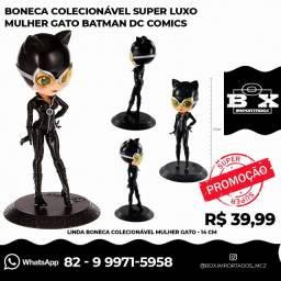 Boneca Super Luxo Mulher Gato