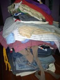 55 peças de roupas para quem vende bazar.
