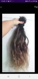 Mega hair iluminado