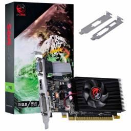 Noobi - Placa de Vídeo Pcyes GT 730 2Gb DDR3 64 Bit Low Profile - PA7302DR364LP