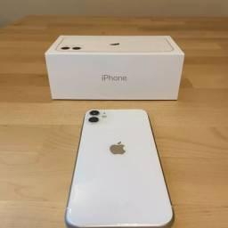 Apple iPhone 11 branco com caixa e nota fiscal!