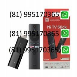 Mi Stick TV Xiaomi Original - Android TV Chomecast integrado