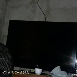 Tv lcd esmart tbm tenho cadeiras e frize em sena madureira