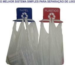 Título do anúncio: Suporte lixeira pendurador-Separação de lixo compacto