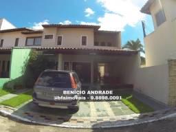 Casa em condomínio próximo a Edilson Brasil Soares, duplex grande e com lazer!