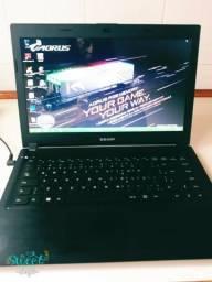 Vendo notebook sem toshiba, hd 500gb,memroia 4gb, 6 meses de uso!!!