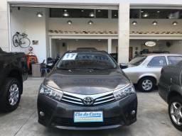 Toyota Corolla Xei 2.0/ Aut/ Couro/ Único Dono - 2017