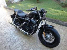 Harley-Davidson XL Forty Eight Sportster 1200 Prata 2014