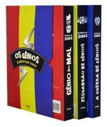 Os Gênios - Box 3 Livros - Trilogia Catherine Jinks - Farol Literário - Produto Novo