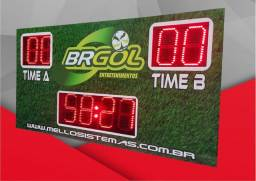 Placar eletronico para quyadra de futebol society