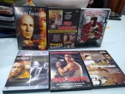 DVD's filmes diversos - ação