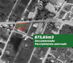 Lote Village do Sol, Guarapari, documentado, 873,65m2, Rodovia ES-477