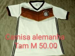 Camisa de futebol alemanha