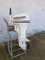 Motor de popa 15hp johnson
