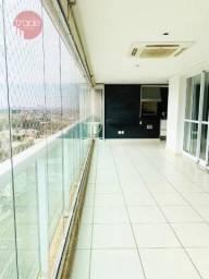 Apartamento com 3 suítes para alugar por R$ 3.500/mês - Jardim Botânico - Ribeirão Preto/S