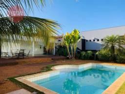 Casa com Piscina para Alugar, 615 m² - venda por R$ 1.600.000 ou aluguel por R$ 8.000/mês
