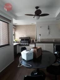 Apartamento com 4 dormitórios para alugar, 265 m² por R$ 6.800,00/mês - Jardim Irajá - Rib