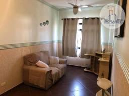 Apartamento com 2 dormitórios à venda, 62 m² por R$ 230.000,00 - Caiçara - Praia Grande/SP