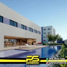 Apartamento com 2 dormitórios à venda, 60 m² por R$ 135.999 - Ernesto Geisel - João Pessoa