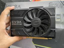Placa de vídeo Nvidia EVGA GTX 1050 2GB