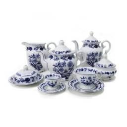 Conjunto de chá porcelana schimid
