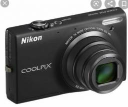 Câmera Nikon Coolpix S6100 Touch Screen