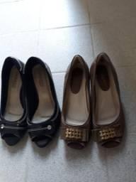 Sapatos femenino (COURO FINO)