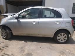 Nissan March 1.6 2014 - Veiculo Para Venda de Peças