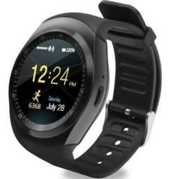 Relógio Bluetooth Inteligente Smart Watch Y1 Android E Ios