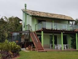 Casa 3 quartos na beira da praia Santinho
