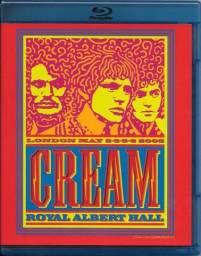 Blu ray Cream - Royal Albert Hall London